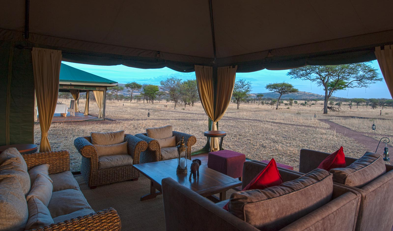 Nimali Central Serengeti Lounge Area