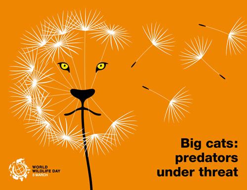 World Wildlife Day 2018 - Big cats: predators under threat