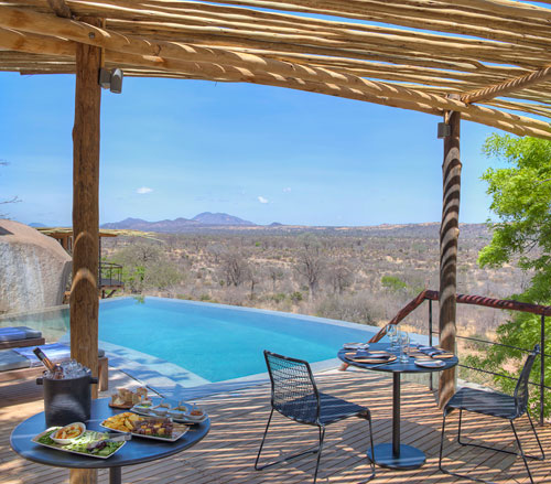 Jabali Ridge Lodge im Ruaha-Nationalpark