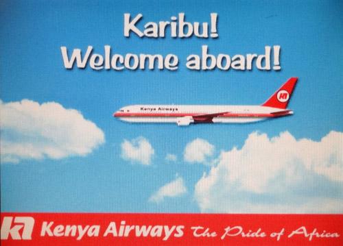 Karibu - Welcome - Kenya Airways