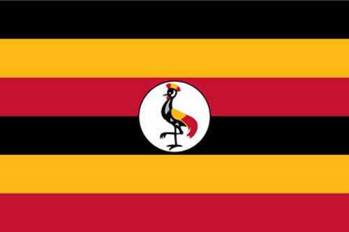 Flagge Uganda