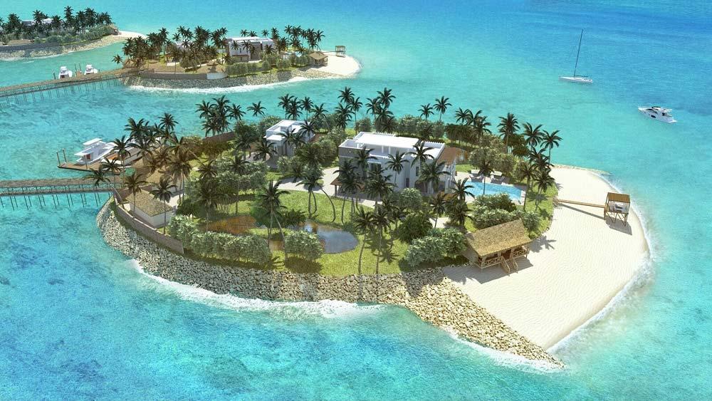 Zanzibar Amber Resort private Insel