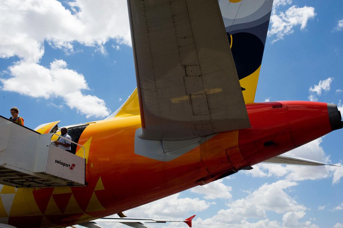 Fastjet Airbus A319-100