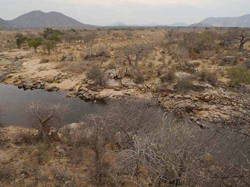 Ruaha-Fluss im Ruaha-Nationalpark